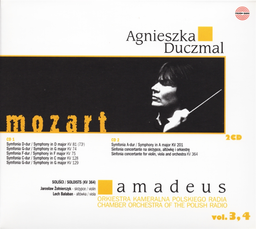 Agnieszka Duczmal Amadeus vol 4