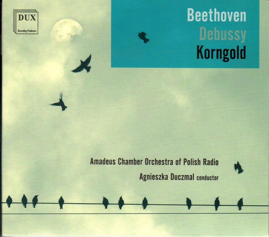 Beethoven, Debussy, Korngold