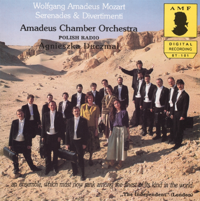 Wolfgang Amadeus Mozart - Serenades and Divertimenti