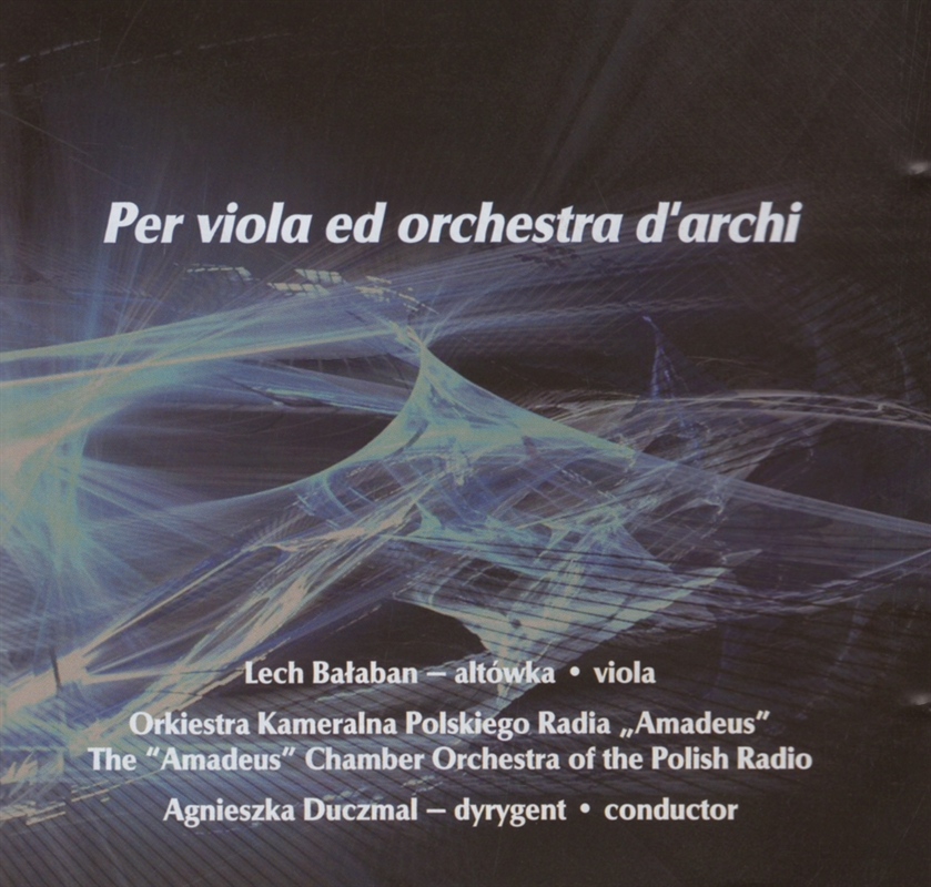 Stachowski, Wróbel - Per viola ed orchestra d'archi