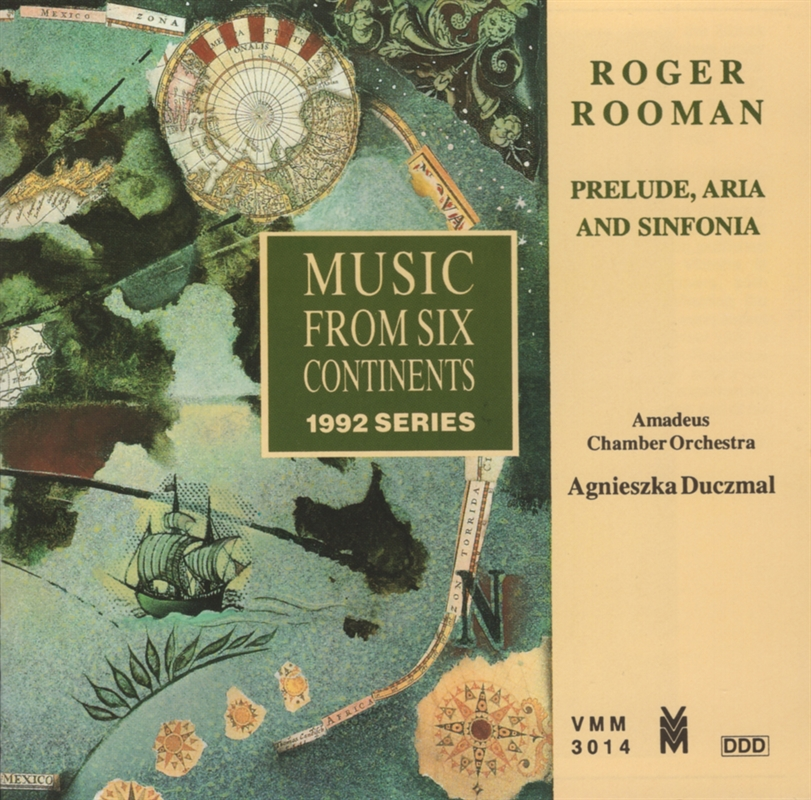 Roger Rooman - Music from six continents