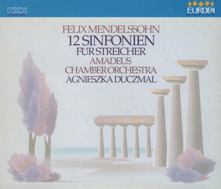 Felix Mendelssohn - 12 Sinfonien CD3