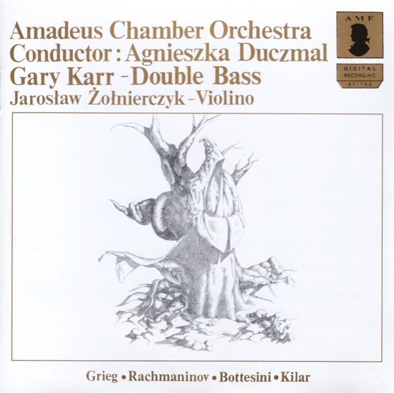 Grieg, Rachmaninov, Bottesini, Kilar